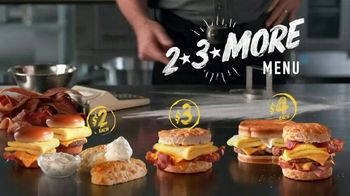 Hardee's 2 3 More Menu TV Spot, 'Crunching the Numbers' - Thumbnail 9