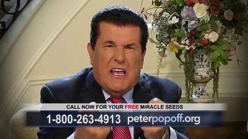 Peter Popoff Ministries Miracle Seeds TV Spot, 'Extra Income'
