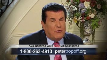Peter Popoff Ministries Miracle Seeds TV Spot, 'Extra Income' - Thumbnail 5