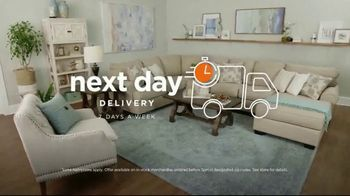 Ashley HomeStore Anniversary Sale TV Spot, 'Final Week: Next Day Delivery' Song by Midnight Riot - Thumbnail 6