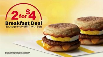 McDonald's Sausage McMuffin With Egg TV Spot, 'Better Way to Breakfast' - Thumbnail 8