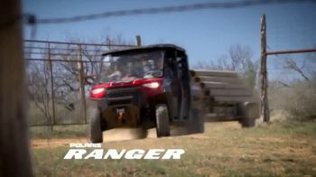 Polaris Spring Sales Event TV Spot, 'Utility Side-by-Sides'