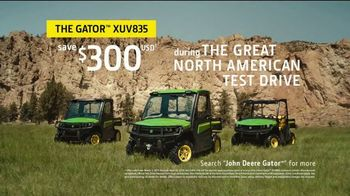 John Deere Great North American Test Drive TV Spot, 'Gator XUV835' - Thumbnail 9