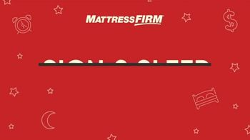 Mattress Firm Sign & Sleep Event TV Spot, 'How Does That Sound?' - Thumbnail 1