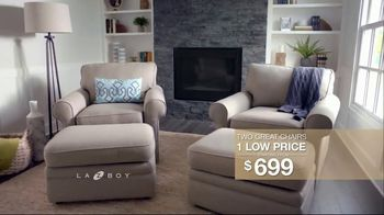 La-Z-Boy Two Great Chairs Event TV Spot, 'Chairs to Fit Every Need' - Thumbnail 6