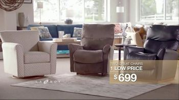 La-Z-Boy Two Great Chairs Event TV Spot, 'Chairs to Fit Every Need' - Thumbnail 8