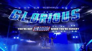 Snickers TV Spot, 'WWE Smackdown Live: Glorious' Featuring Bobby Roode, Chad Gable