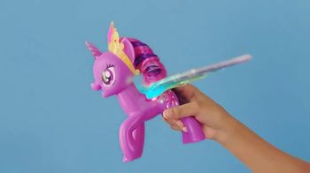 My Little Pony Rainbow Wings Twilight Sparkle TV Spot, 'Watch Her Glow' - Thumbnail 9