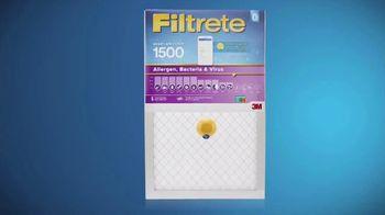 Filtrete Smart Air Filters TV Spot, 'Track Your Filter Life' - Thumbnail 5