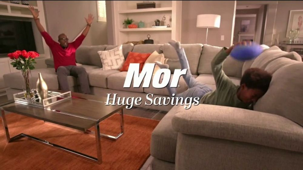 Mor Furniture Tv Commercial Double The Difference Style Comfort