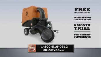 DR Power Equipment Leaf and Lawn Vacuum TV Spot, 'All Four Seasons' - Thumbnail 10
