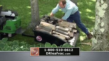 DR Power Equipment Leaf and Lawn Vacuum TV Spot, 'All Four Seasons' - Thumbnail 6