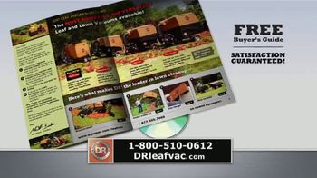 DR Power Equipment Leaf and Lawn Vacuum TV Spot, 'All Four Seasons' - Thumbnail 8