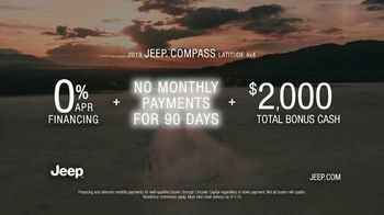 2019 Jeep Compass TV Spot, 'Legends' Song by The Kills [T2] - Thumbnail 6