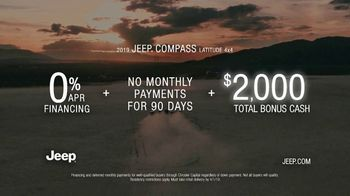 2019 Jeep Compass TV Spot, 'Legends' Song by The Kills [T2] - Thumbnail 8