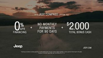2019 Jeep Compass TV Spot, 'Legends' Song by The Kills [T2] - Thumbnail 9