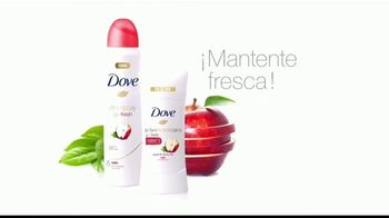 Dove Go Fresh TV Spot, 'Manzana y té blanco' [Spanish] - Thumbnail 8