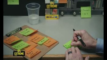 Post-it Extreme Notes TV Spot, 'Spill' Featuring Marty Smith