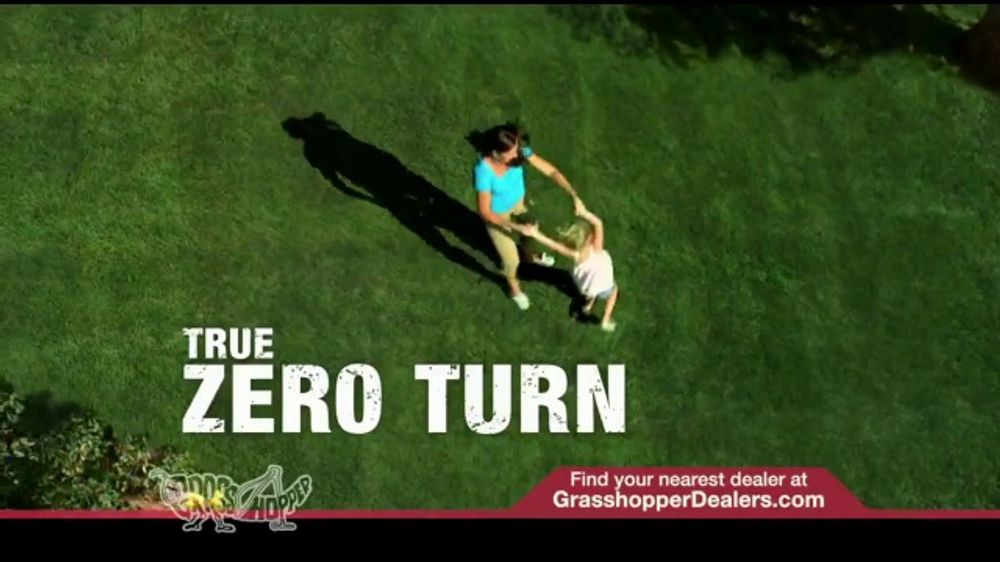 Grasshopper Mowers TV Commercial, 'True Zero Turn'