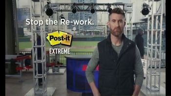 Post-it Extreme Notes TV Spot, 'Build It' Featuring Marty Smith - Thumbnail 9