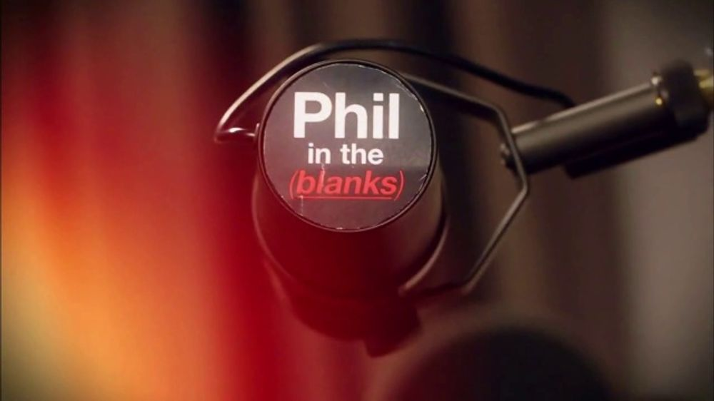 Phil in the Blanks TV Commercial, 'Real People, Real Talk'