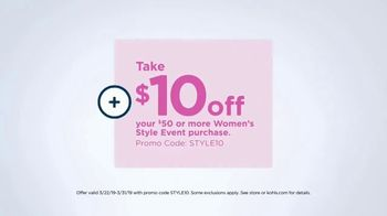 Kohl's TV Spot, 'The Savings Add Up: Women's Style Event' Song by Rayelle - Thumbnail 8
