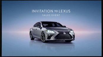 Invitation to Lexus Sales Event TV Spot, 'Higher Standard' [T2] - Thumbnail 2