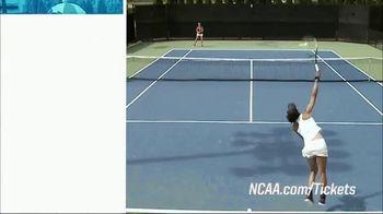 NCAA TV Spot, '2019 Division I Men's & Women's Tennis Championships' - Thumbnail 4