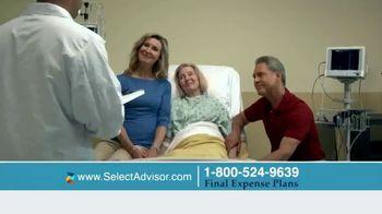 Select Advisor Final Expense Insurance Plan TV Spot, 'Hospital Visit' - Thumbnail 1