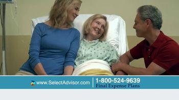 Select Advisor Final Expense Insurance Plan TV Spot, 'Hospital Visit'