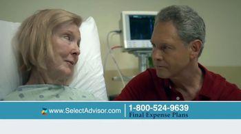 Select Advisor Final Expense Insurance Plan TV Spot, 'Hospital Visit' - Thumbnail 2