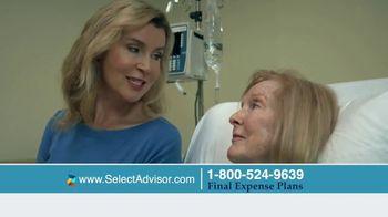 Select Advisor Final Expense Insurance Plan TV Spot, 'Hospital Visit' - Thumbnail 3