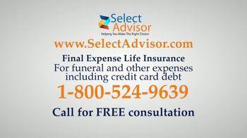 Select Advisor Final Expense Insurance Plan TV Spot, 'Hospital Visit' - Thumbnail 4