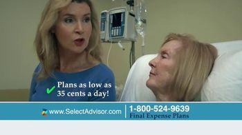 Select Advisor Final Expense Insurance Plan TV Spot, 'Hospital Visit' - Thumbnail 6