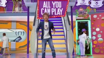 Chuck E. Cheese's All You Can Play TV Spot, 'Kids Call the Shots' - Thumbnail 2