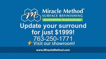 Miracle Method TV Spot, 'Ugly Bathtubs and Showers: Refinish' - Thumbnail 8
