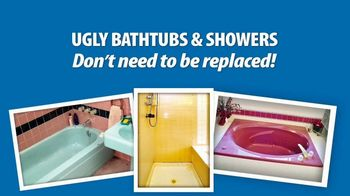 Miracle Method TV Spot, 'Ugly Bathtubs and Showers: Refinish' - Thumbnail 1