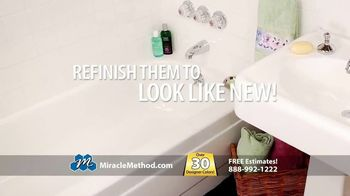 Miracle Method TV Spot, 'Ugly Bathtubs and Showers: Refinish' - Thumbnail 3