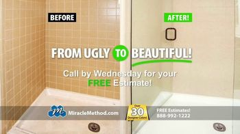 Miracle Method TV Spot, 'Ugly Bathtubs and Showers: Refinish' - Thumbnail 7