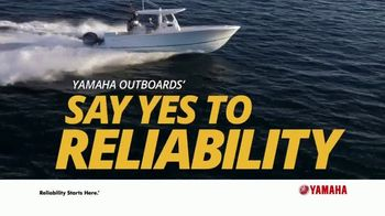 Yamaha Outboards Say Yes to Reliability Sales Event TV Spot, 'Turn the Key' - Thumbnail 9