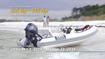 Yamaha Outboards Say Yes to Reliability Sales Event TV Spot, 'Turn the Key' - Thumbnail 5