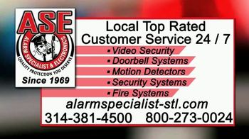Alarm Specialist & Electronics TV Spot, 'Burglaries' - Thumbnail 10
