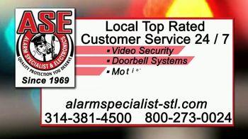 Alarm Specialist & Electronics TV Spot, 'Burglaries' - Thumbnail 6