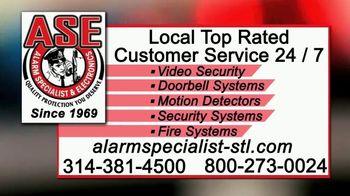 Alarm Specialist & Electronics TV Spot, 'Burglaries' - Thumbnail 7
