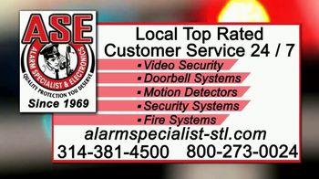 Alarm Specialist & Electronics TV Spot, 'Burglaries' - Thumbnail 8