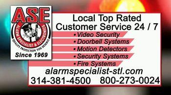 Alarm Specialist & Electronics TV Spot, 'Burglaries' - Thumbnail 9