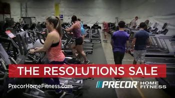 Precor Home Fitness The Resolutions Sale TV Spot, 'New Year, New You' - Thumbnail 3