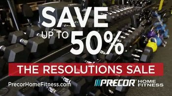 Precor Home Fitness The Resolutions Sale TV Spot, 'New Year, New You' - Thumbnail 4