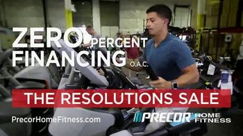 Precor Home Fitness The Resolutions Sale TV Spot, 'New Year, New You' - Thumbnail 5