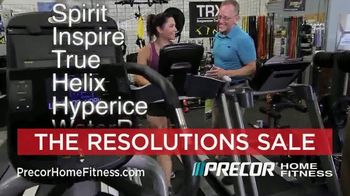 Precor Home Fitness The Resolutions Sale TV Spot, 'New Year, New You' - Thumbnail 6